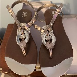 Shoes - Silver sandals (Target)